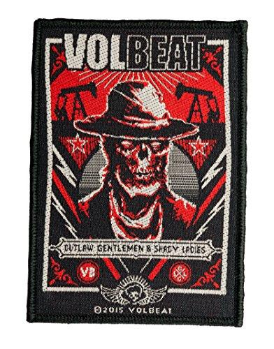 Volbeat Aufnäher - Ghoul Frame -(SP2809) Volbeat Patch - Gewebt & Lizenziert !!