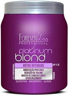 Forever liss Platinum Botox Intensive Matizador - Blonde Hair Mask 1kg