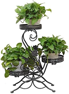 FJFSC Flower Rack Plant Stands 5 Tiers Stepped Flower Shelf/Plant Stand - Flower Rack in Indoor/Outdoor As Storage Rack fo...