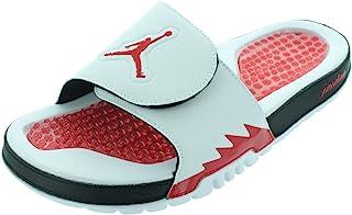 Men's Jordan Hydro V Retro 555501 101 White Fire Red...