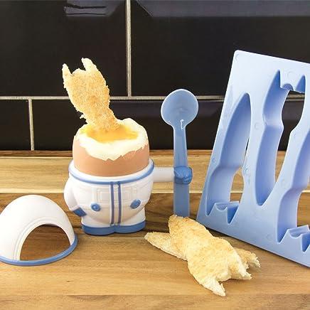 Preisvergleich für Flashpoint 556179 Astronaut Eierbecher und Toastschneider