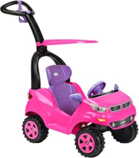 Prinsel Ride On Montable Push Car Adventure, Color Rosa