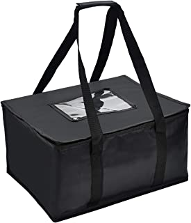 Nylon Large Insulated Food Delivery Bag; Quality Thermal Insulated Food Carry Bag for Food Delivery Companies; Perfect Pizza Delivery Bag