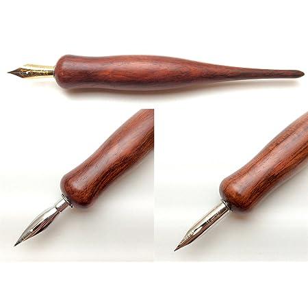 イタリア製 天然木 ローズウッド プロ仕様 太軸高級ペン軸