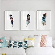 Zhaoyangeng Veren in Scandinavische stijl, muurkunst, schilderwerk, minimalistische afbeeldingen, wanddecoratie, retro can...