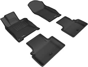 3D MAXpider Complete Set Custom Fit All-Weather Floor Mat for Select Infiniti Q50 Models - Kagu Rubber (Gray)