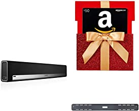 Sonos Playbar TV Soundbar with Sonos Wall Mount Kit + $50 Amazon Giftcard