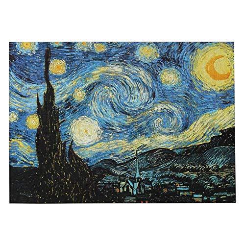Y-fodoro Puzle para adultos, 1000 piezas, pintura al óleo, paisaje de madera, puzle, decoración del hogar, juegos, juguetes para amigas, regalos de noche de estrellas