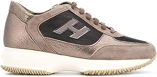 HOGAN Women's HXW00N02582JE90BN2 Brown Leather Sneakers