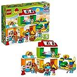 LEGO- Duplo Grande Piazza in Citta' Costruzioni Gioco Bambina Giocattolo, Multicolore, 10836