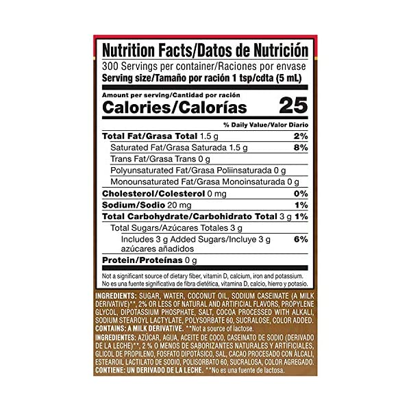 Nestle Coffee Mate Coffee Creamer Calories