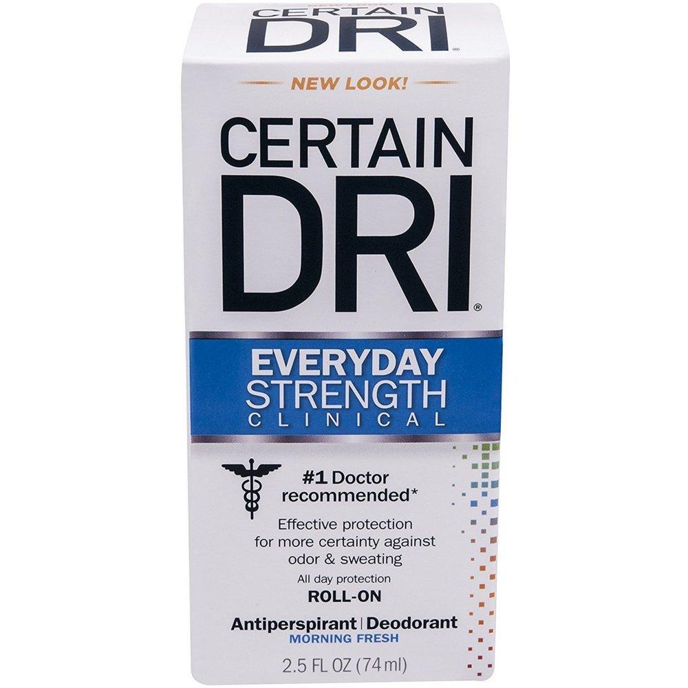 CERTAIN DRI Everyday Strength Clinical Antiperspirant Roll De On Portland Max 46% OFF Mall