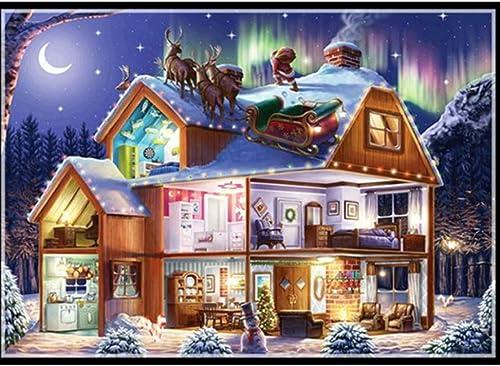 tiempo libre XIGZI 5D DIY Diamante Pintura Hermosa Nieve Nieve Nieve Paisaje Invierno Bordado Rhinestone Mosaico Imagen Sin Marco  diseños exclusivos