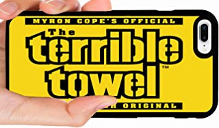 Terrible Towel Steelers Die-Hard Fan Fanatic Steel Curtain Football Phone Case Cover - Select Model (iPhone X)