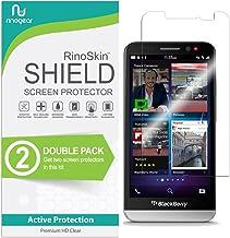 (2-Pack) RinoGear BlackBerry Z30 Screen Protector Case Friendly Screen Protector for BlackBerry Z30 Accessory Full Coverag...