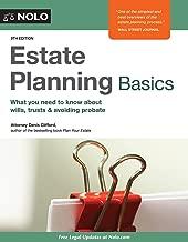 Best nolo estate planning basics Reviews