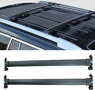 Autoxrun Crossbars Fits 2010-2019 Toyota 4Runner Baggage Roof Rack Rail Cross Bar Black