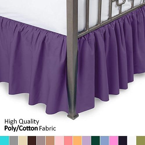 Dorm Bed Skirt: Amazon com