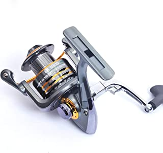 DUYULU Fishing Line Spinning Wheel Metal Sea Bream Round Sea Pole Far-Injection Road Asian Rim Fishing Gear Reel 12 1 Axis Without Gap Left Right Hand Interchangeable
