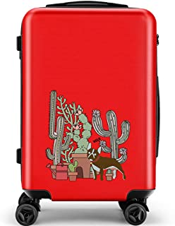 YCYHMY Suitcase Check Box 4 Wheel ABS Hard Case Telescopic Handle Suitcase 4 Wheel ABS Hard Case Suitcase Check Box Red