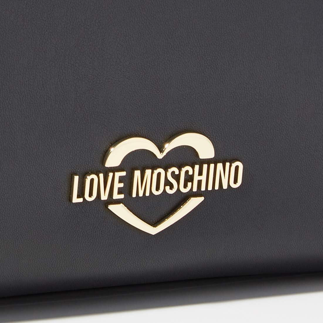 Love Moschino Sac femme à main ou épaule article JC4084PP1ALM BORSA PU - cm.38x26x11 Noir (Nero)
