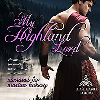 My Highland Lord audiobook cover art