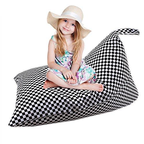 Gaeruite peluche Animal Toy stockage sac pouf chaise pour les enfants et les adultes - Organisateur de grande capacité Chaise de sac de haricot (A LYL 74)