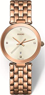 Rado Women's White Dial Metal Band Watch - R48873734