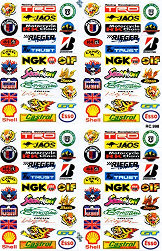by soljo Woody Woodpecker Sticker Tuning Racing Motocross Autocollant Feuille 15 x 8 cm
