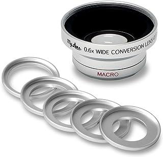 My Lens (マイ レンズ) ビデオカメラ用 広角 0.6倍 ワイドコンバージョンレンズ レンズ径 25mm 28mm 30mm 30.5mm 34mm 37mm 対応 Full HD VIDEO 対応 JTT Online MLE37W06