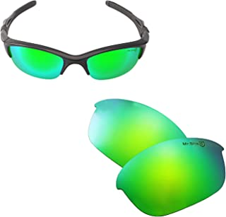 Walleva Replacement Lenses Or Lenses With Rubber Kit for Oakley Half Jacket 2.0 Sunglasses
