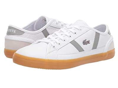 Lacoste Sideline 319 1 (White/Grey) Women