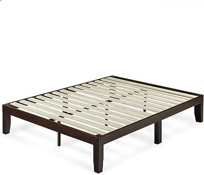 Overstock Priage 14 Inch Wood Platform Bed Queen