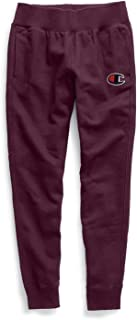 Champion Women's Reverse Weave Jogger with Chenille C Logo -Dark Berry Purple_XS