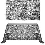 2 Sheets 4.5 x 9 Feet Brick Stone Wall...