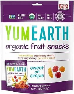 YumEarth Organic Fruit Snacks, 5 Snack Packs