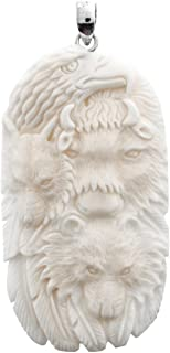eagle wolf bear totem