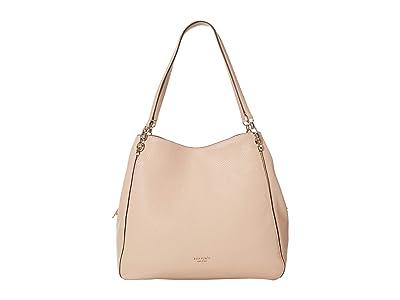 Kate Spade New York Hailey Large Shoulder Bag (Blush) Shoulder Handbags