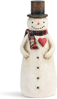 Snowman Figurine Lifetime Brands 49-780 Fitz and Floyd Wintry Woods