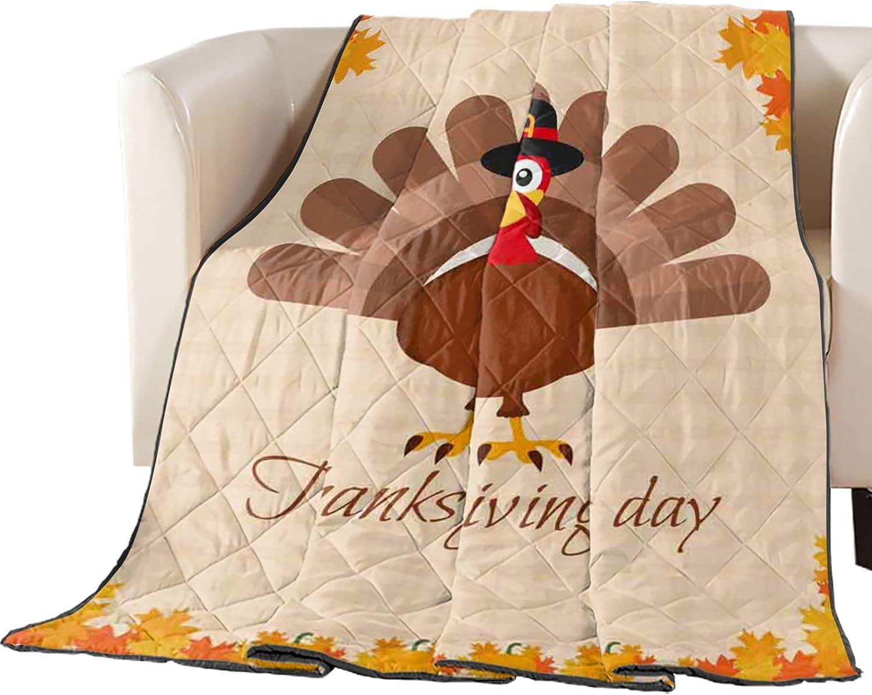 Cheap bargain Down Alternative lowest price Comforter Thanksgiving Cartoon Oran Turkey Cute