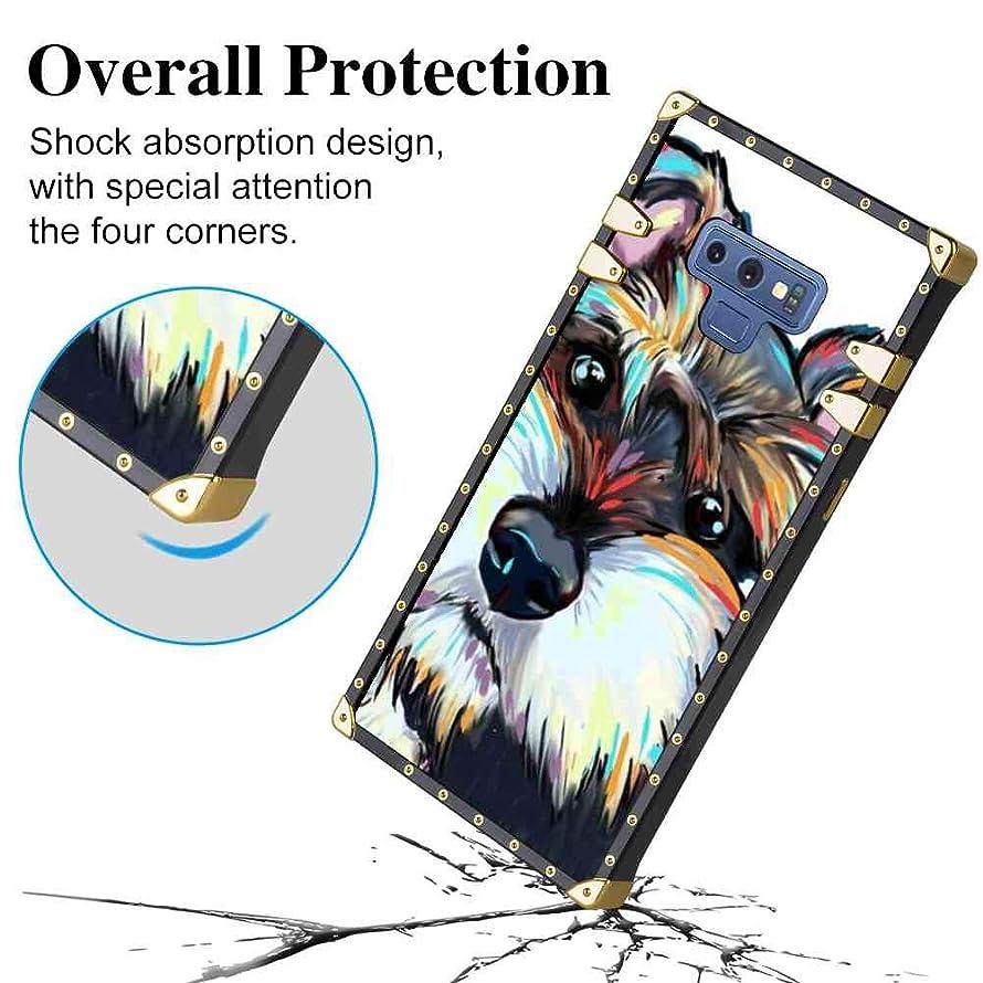 Bonoma Doubtful Schnauzer Case Cover for Galaxy Note 9 (6.4