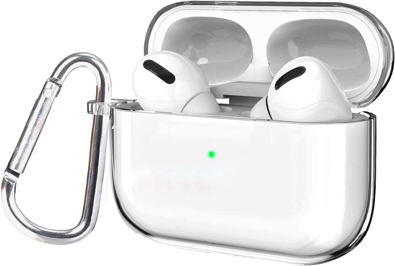 Clear Case Compatible AirPods PRO kit Keychain Cover OFFicial site with S Dallas Mall