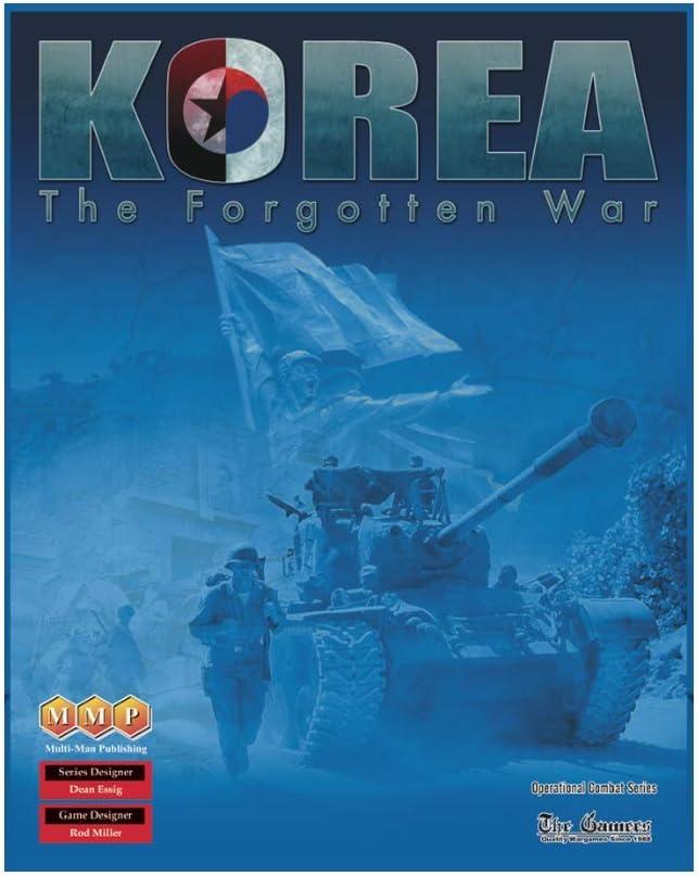 MMP Multi-Man 物品 Publications Korea The 2nd War Edition Forgotten いつでも送料無料