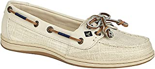 Sperry Top-Sider Women's Firefish Birch Linen Canvas Boat Shoes