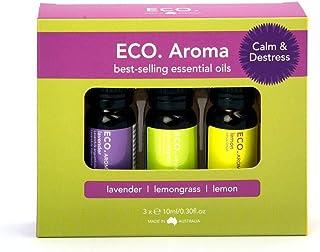 Eco. Calm & Destress Aroma Trio (Lav Lemon Lemongrass)