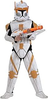 Child Deluxe Clone Trooper Commander Cody Costume