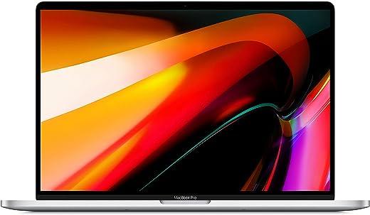 Apple MacBook Pro (16-inch, Touch Bar, 2.3GHz 8-core Intel Core i9 processor, 16GB RAM, 1TB) - Silver