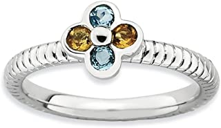 Best yellow topaz stackable ring Reviews