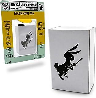 Adams Pranks and Magic - Magic Coin Box - Classic Novelty Magic Toy