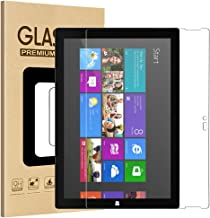 """Surface Pro 3 Screen Protector, GreenElec 9H Hardness Tempered Glass Anti-Glare Scratch-Resistant Protector for Microsoft Surface Pro 3 """"12 Inch"""" - [NOT for Microsoft Surface 3 10.8 Inch]"""